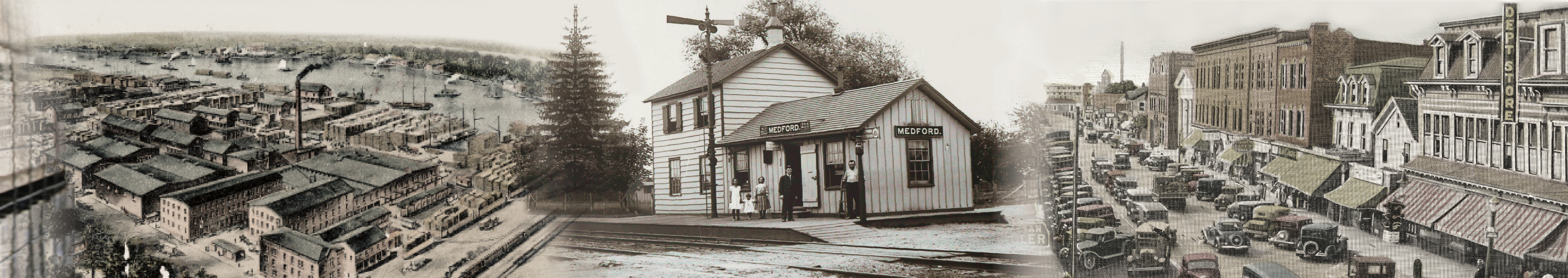 Patchogue-Medford Area History Header